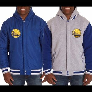 Other - Golden State Warriors  Reversible  Hooded Jacket